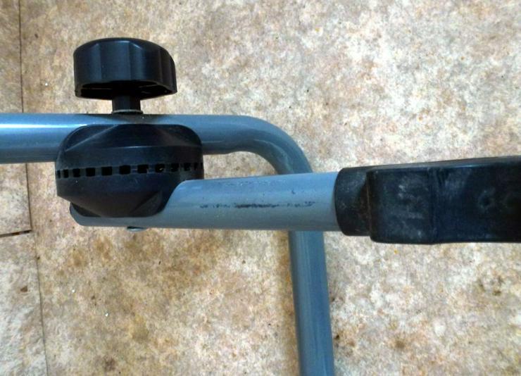 Bild 3: Fahrradhalterung