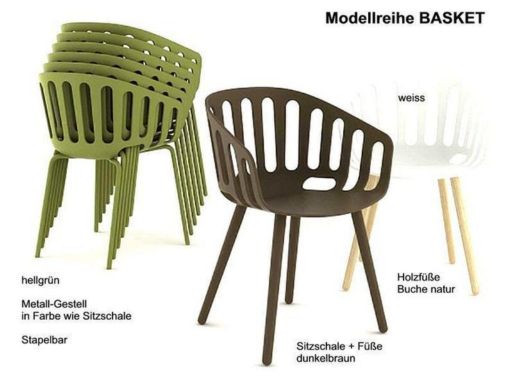 Bild 2: Armlehnstuhl BASKET von GABER Design, Italien