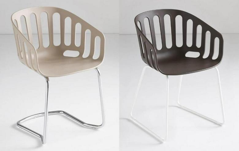 Bild 3: Armlehnstuhl BASKET von GABER Design, Italien