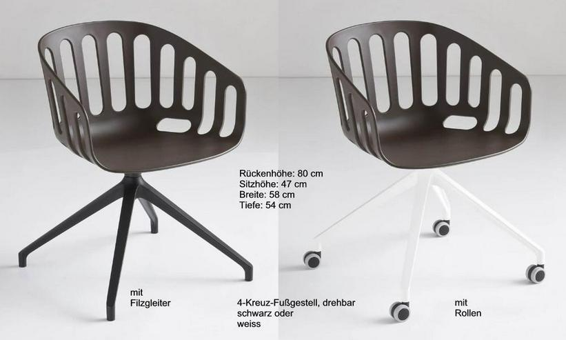 Bild 5: Armlehnstuhl BASKET von GABER Design, Italien