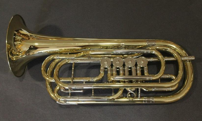 Bild 2: Cerveny Basstrompete 4 Ventile Mod. CTR 592-4
