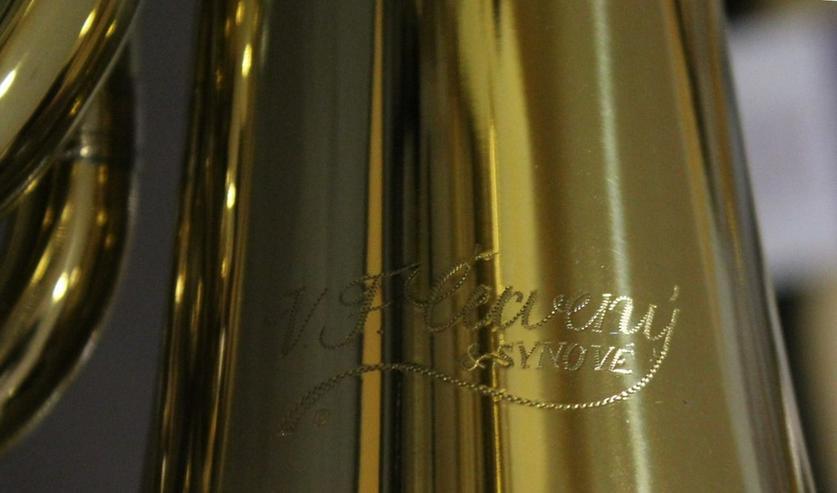 Bild 3: Cerveny Basstrompete 4 Ventile Mod. CTR 592-4