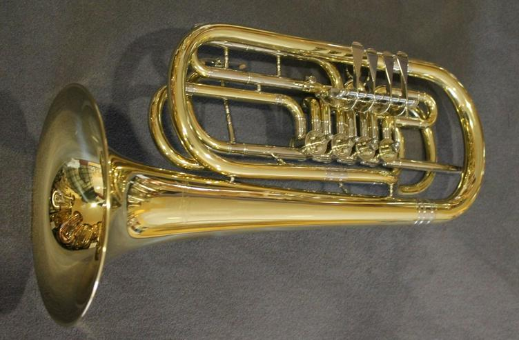 Bild 4: Cerveny Basstrompete 4 Ventile Mod. CTR 592-4