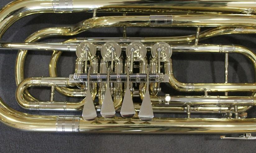 Bild 6: Cerveny Basstrompete 4 Ventile Mod. CTR 592-4
