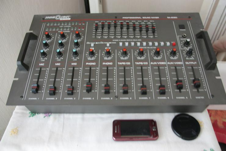 Stereoanlage Einzelbausteine Mit Mischpult