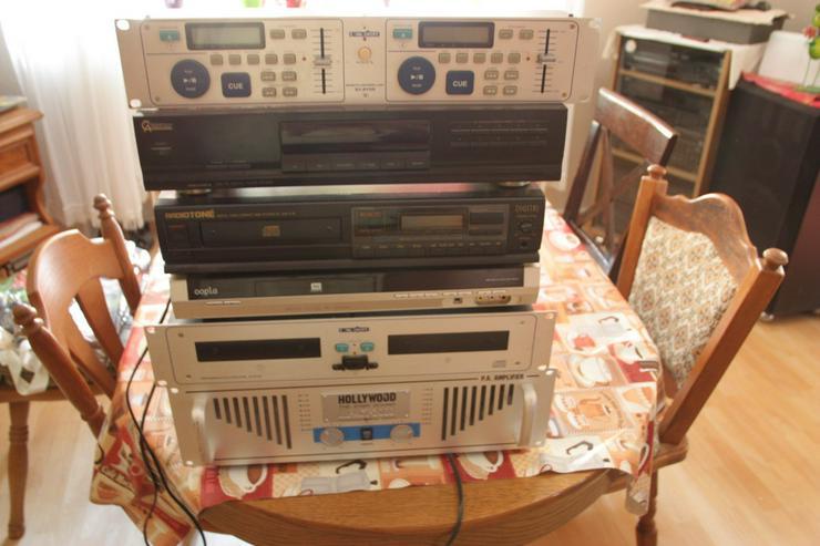 Bild 2: Stereoanlage Einzelbausteine Mit Mischpult