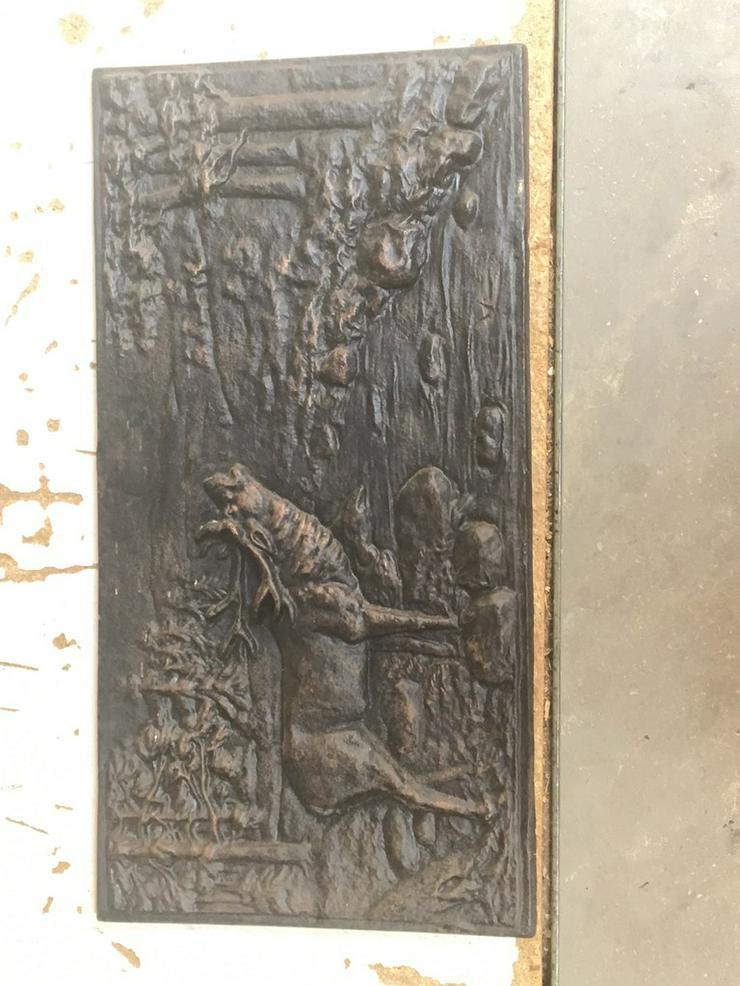 Bild 3: Antike Ofenplatte, Gussplatte sehr gut erhalten
