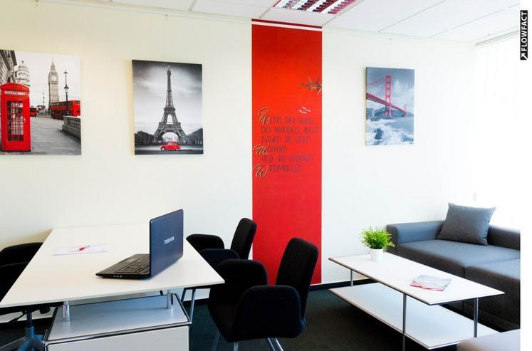 Büro/s möbliert, für 1-4 Mitarbeiter, flexible Laufzeit - Gewerbeimmobilie mieten - Bild 1
