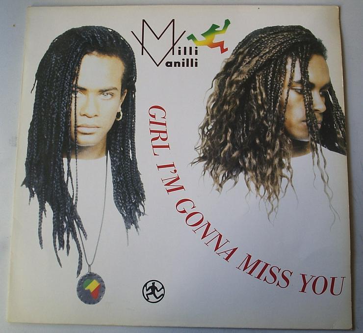 LP MAXI Milli Vanilli
