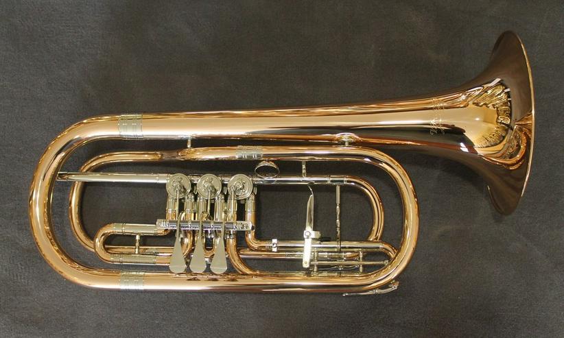 Cerveny Basstrompete Goldmessing, Mod. CTR 792 - Blasinstrumente - Bild 1