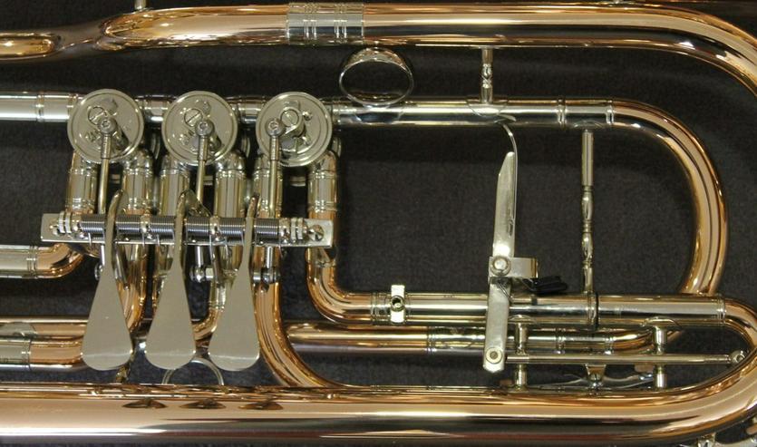 Bild 3: Cerveny Basstrompete Goldmessing, Mod. CTR 792