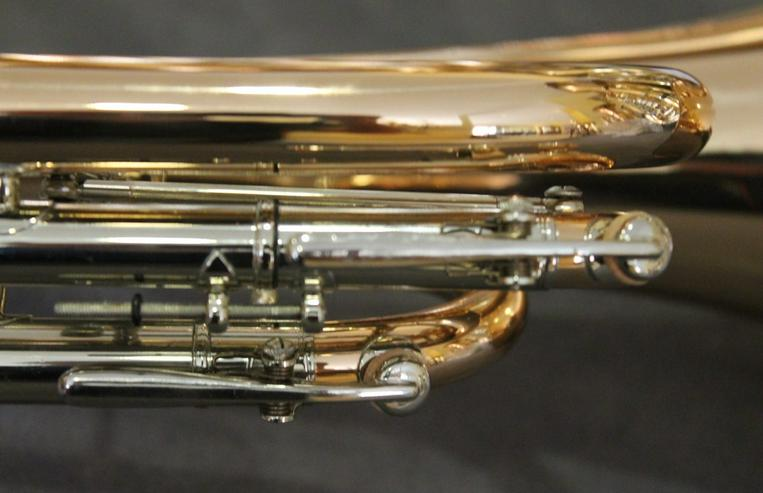Bild 4: Cerveny Basstrompete Goldmessing, Mod. CTR 792