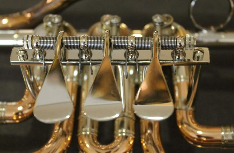 Bild 5: Cerveny Basstrompete Goldmessing, Mod. CTR 792