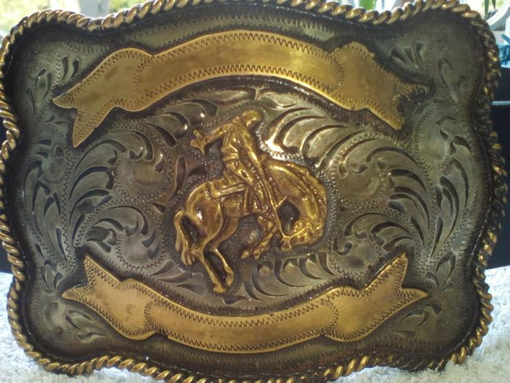Ralph Lauren Western Rodeo Gürtelschnalle