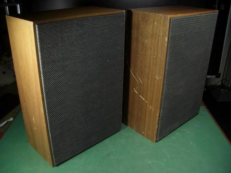 Vintage 2 Wege Boxen Westra 4 Ohm - Lautsprecher - Bild 1