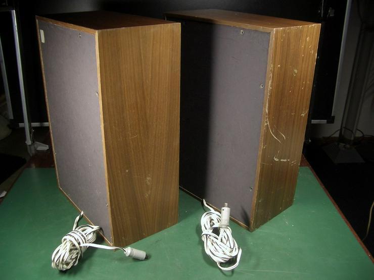 Bild 2: Vintage 2 Wege Boxen Westra 4 Ohm