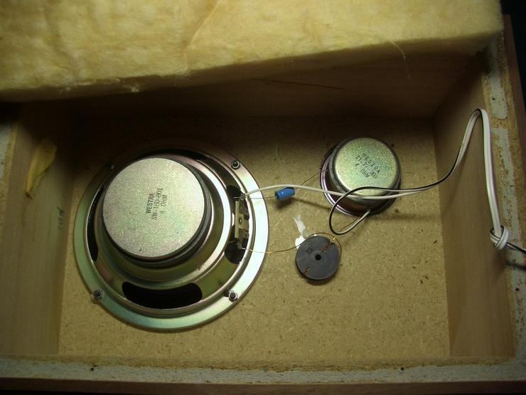 Bild 3: Vintage 2 Wege Boxen Westra 4 Ohm