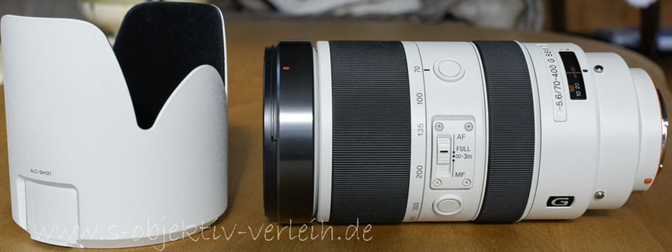 Sony Mietobjektive-z.B. SAL 4-5.6/70-400 SSM II