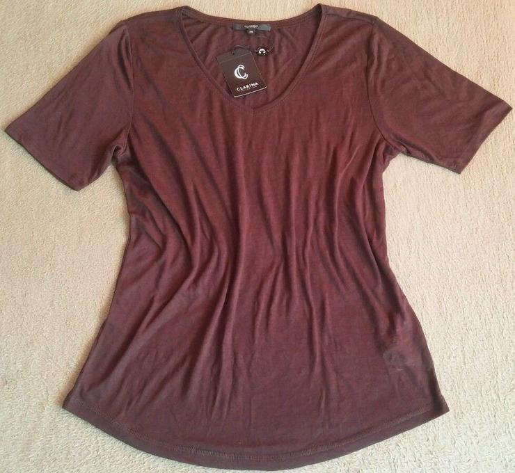 Bild 6: NEU Damen Shirt Bluse Gr.S in Braun P.35,95#0xA