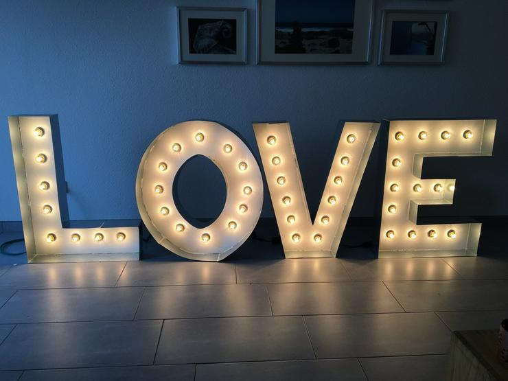 L.O.V.E Buchstaben Marquee Buchstaben Hochzeit - Party, Events & Messen - Bild 1