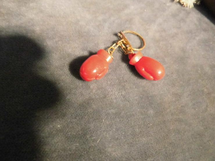Bild 3: 2 Paar Boxhandschuhe als Schlüsselanhänger ode