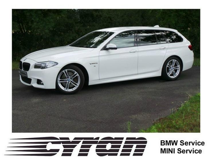 BMW 535dA Touring M-Sportpaket Navi Kamera Memory - 5er Reihe - Bild 1