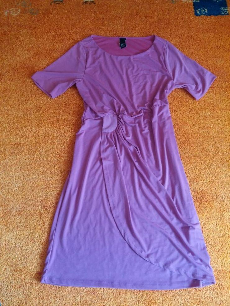 Damen Kleid Lagenlook Gr.40 v. B.C. in Weinrot