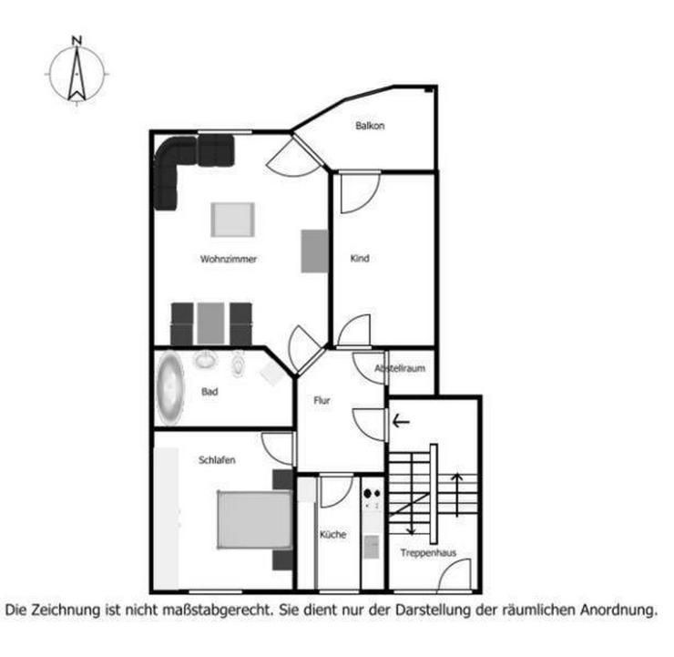 3-Zimmer-Wohnung Kaufering ideal für Pendler