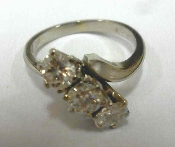 Damenring mit drei Brillianten - Ringe - Bild 1