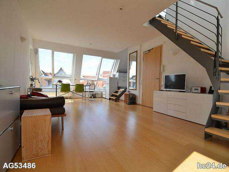 Bild 2: *** SELTENHEIT, interessante möblierte 2 Zimmer- Maisonettewohnung mitten in Ulm