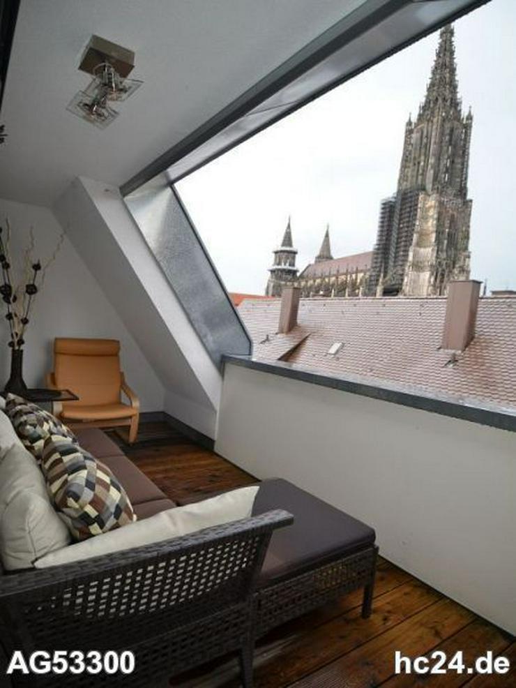 Bild 6: ***exclusive 3-Zimmer Maisonette-Wohnung in der Ulmer City mit Münsterblick
