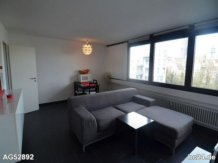 Bild 2: *** moderne möblierte 2 Zimmerwohnung mit Blick auf das Münster