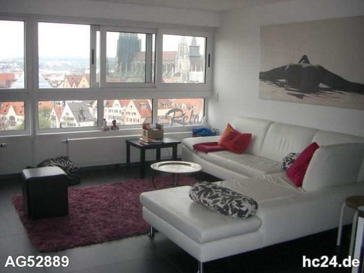 Bild 10: *** HOCHWERTIGE möblierte Wohnung mit Blick auf das Münster und die Donau
