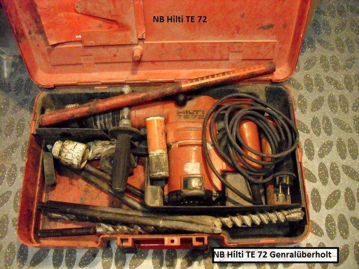 Hilti TE 72 Bohrhammer mit Zubehör