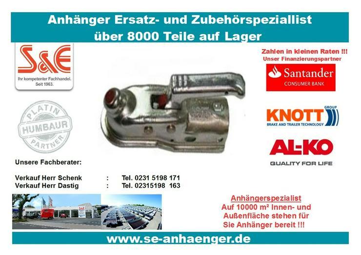 Zugkugelkupplung AK 300 Ausf. A 3000kg , 50mm - Zubehör - Bild 1