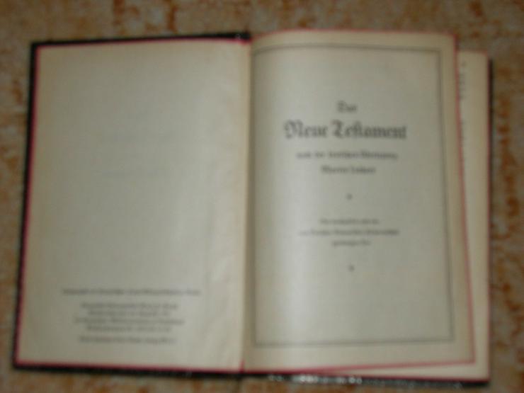 Bild 2: Neues Testament