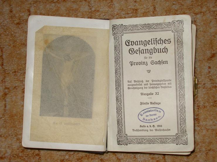 Ev. Gesangbuch für die Provinz Sach - Religion & Lebenshilfe - Bild 1
