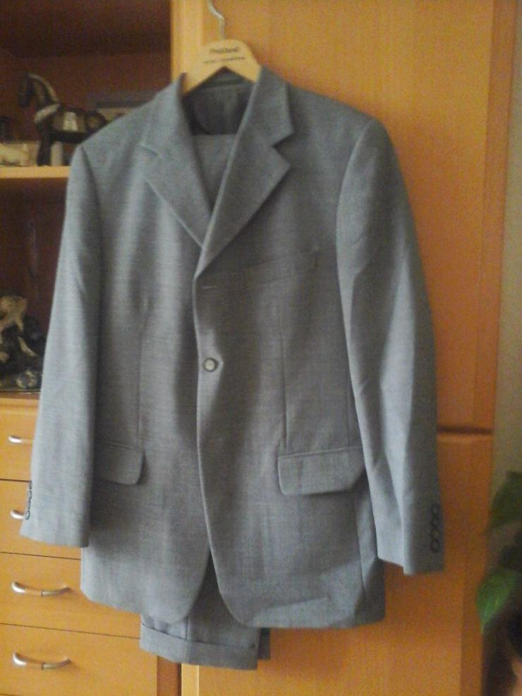 grauer Anzug - Größen 48-50 / M - Bild 1