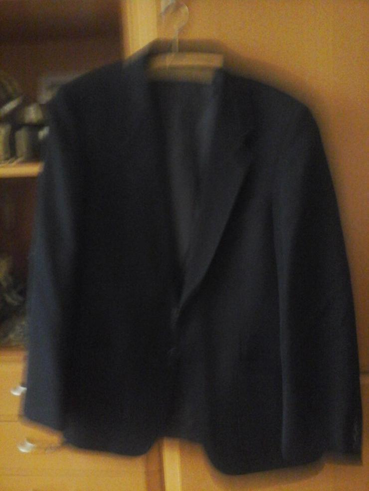 Schwarzer Anzug - Größen 52-54 / L - Bild 1