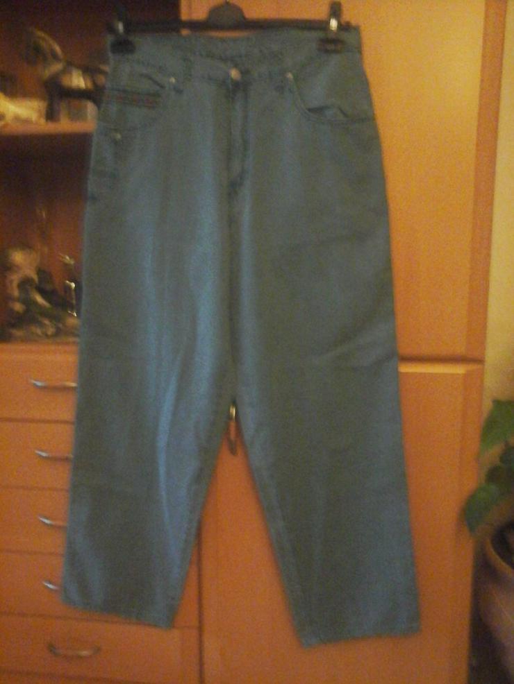 grünliche Hose - W36-W40 / 48-50 / XL - Bild 1