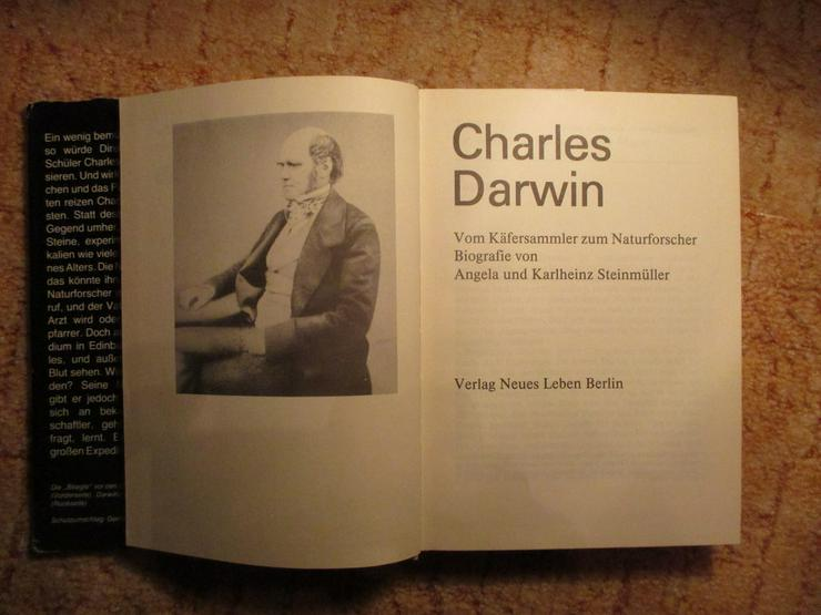 Bild 2: Charles Darwin-Biografie