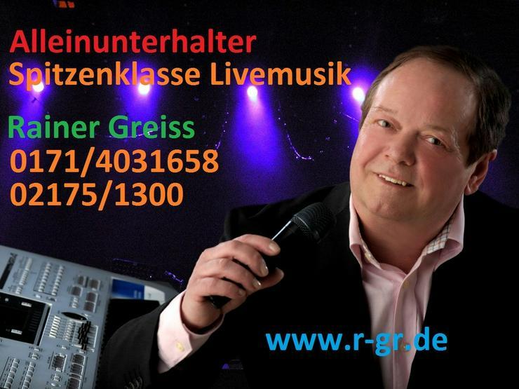 Alleinunterhalter Rainer Greiss Leverkusen