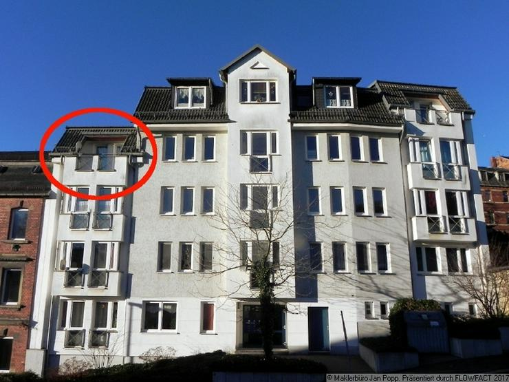 Bild 8: Zweiraumwohnung mit Einbauküche und Balkon