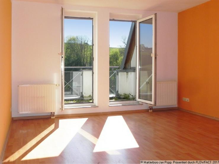 Bild 2: Zweiraumwohnung mit Einbauküche und Balkon