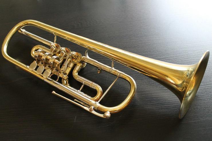 Bild 4: Deutsche B - Konzert - Trompete, 3 Drehventile