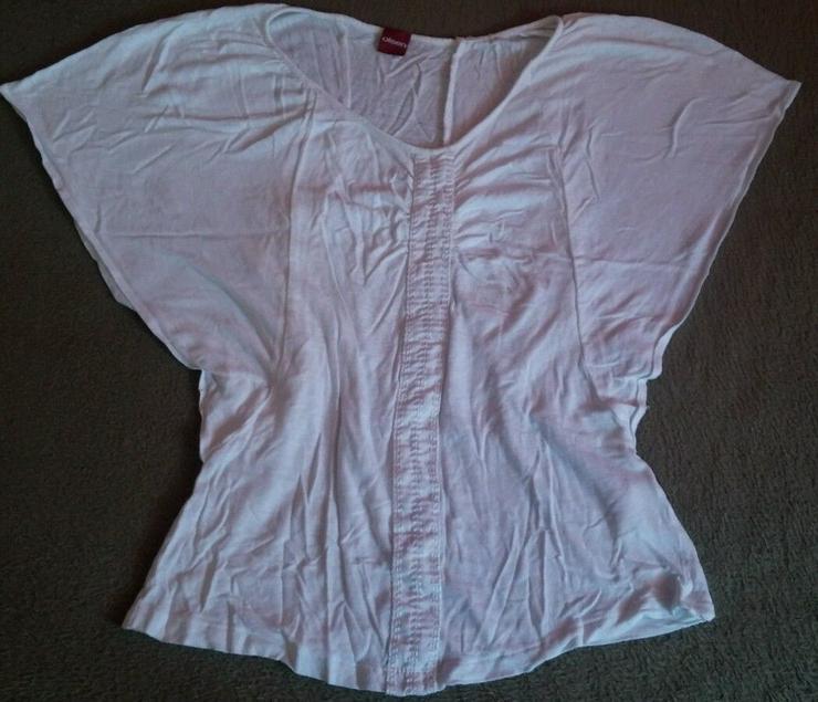 Damen Shirt Leinen v. Olsen Gr.34 in Weiß