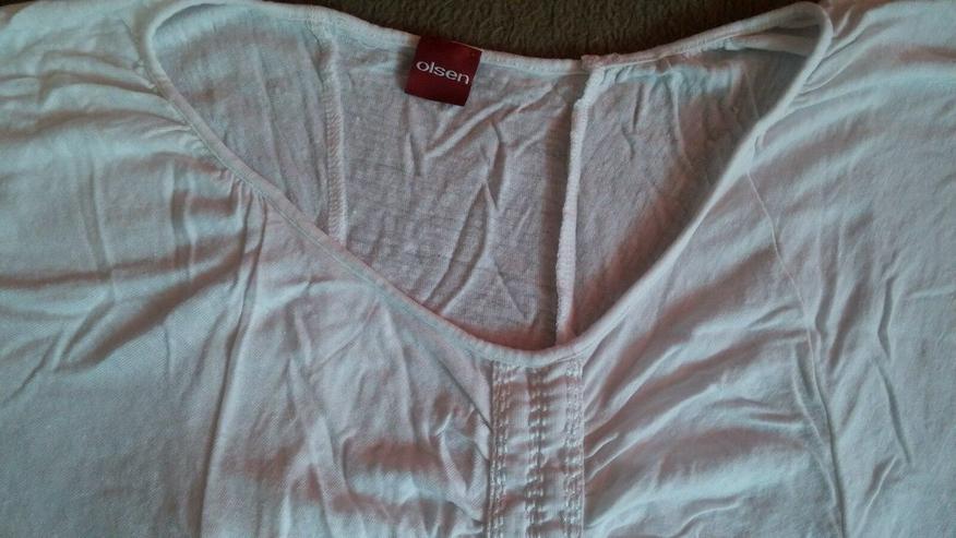 Bild 2: Damen Shirt Leinen v. Olsen Gr.34 in Weiß