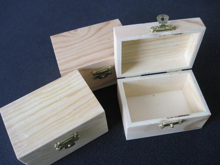 Bild 2: 3 Schatzkisten , Schatzkästchen aus Holz