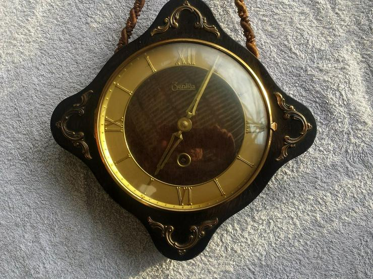 Bild 2: Zentra Wanduhr Wand Uhr Klein