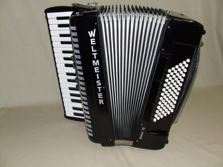Weltmeister Akkordeon Achat 72 New Look - Akkordeons & Harmonikas - Bild 1